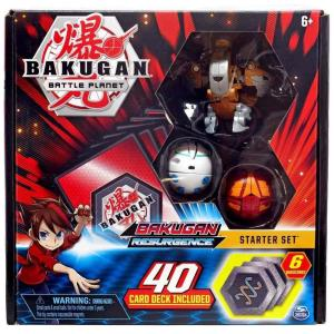 爆丸バトルブローラーズ Bakugan Battle Planet おもちゃ・ホビー Resurgence Aurelus Nobilious Starter Set|fermart-hobby