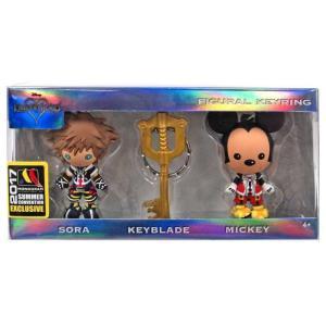 キングダム ハーツ Kingdom Hearts モノグラム Monogram おもちゃ Disney 3D Figural Keychain Exclusive 3-Pack|fermart-hobby