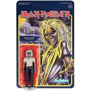 リアクション ReAction スーパー7 Super7 フィギュア おもちゃ Iron Maiden Killers Eddie Action Figure|fermart-hobby