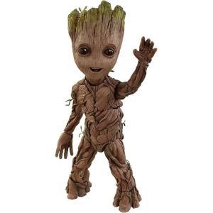ガーディアンズ オブ ギャラクシー Guardians of the Galaxy ホットトイズ Hot Toys フィギュア おもちゃ Marvel Vol. 2 Life Size Groot Collectible Figure|fermart-hobby