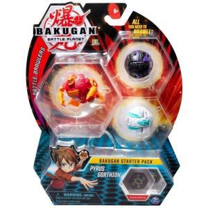 爆丸バトルブローラーズ Bakugan おもちゃ・ホビー Battle Planet Battle Brawlers Pyrus Gorthion Starter Pack|fermart-hobby