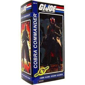 ジー アイ ジョー GI Joe フィギュア Cobra Enemy Hooded Cobra Commander Collectible Figure|fermart-hobby