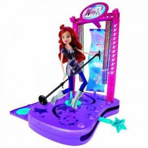 ウィンクス クラブ Winx Club ジャックスパシフィック Jakks Pacific 人形 おもちゃ Concert Stage Exclusive 11.5-Inch Doll Playset|fermart-hobby