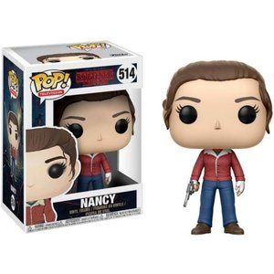 ストレンジャー シングス? Stranger Things ファンコ Funko フィギュア おもちゃ POP! TV Nancy Wheeler Vinyl Figure #514 [Holding Gun]|fermart-hobby