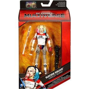 スーサイド スクワッド Suicide Squad マテル Mattel Toys フィギュア おもちゃ DC Multiverse Croc Series Harley Quinn Action Figure [Baseball Bat]|fermart-hobby
