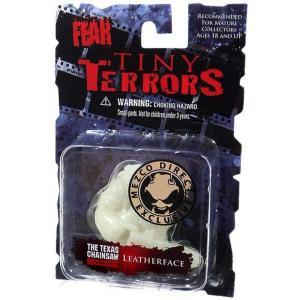 シネマ オブ フィアー メズコ フィギュア おもちゃ A Nightmare on Elm Street Tiny Terrors Series 1 Leatherface Exclusive Mini Figure [Glow-in-the-Dark]|fermart-hobby