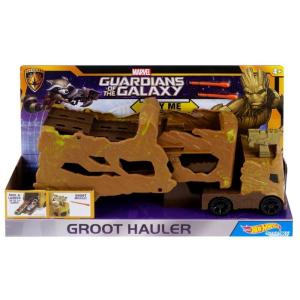 ガーディアンズ オブ ギャラクシー Guardians of the Galaxy マテル Mattel Toys フィギュア おもちゃ Marvel Hot Wheels Groot Hauler Vehicle|fermart-hobby