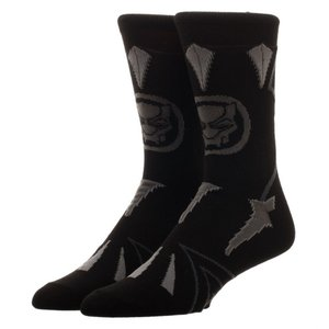 ブラックパンサー Black Panther バイオワールド Bioworld おもちゃ Marvel Suit Up Crew Sock|fermart-hobby