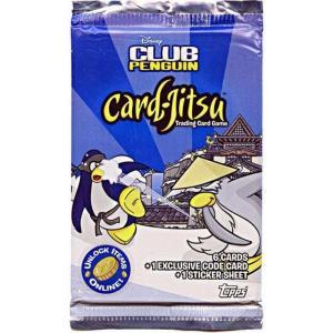 クラブ ペンギン Club Penguin トップス Topps おもちゃ Card-Jitsu Series 2 Booster Pack|fermart-hobby