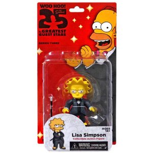 ザ シンプソンズ The Simpsons フィギュア シリーズ3 Greatest Guest Stars Series 3 Lisa Simpson Action FIgure|fermart-hobby