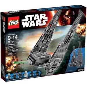 カイロ レン Kylo Ren レゴ LEGO おもちゃ Star Wars The Force Awakens 's Command Shuttle Set #75104|fermart-hobby