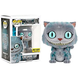 アリス イン ワンダーランド Alice in Wonderland フィギュア POP! Disney Cheshire Cat Exclusive Vinyl Figure #178 [Flocked]|fermart-hobby