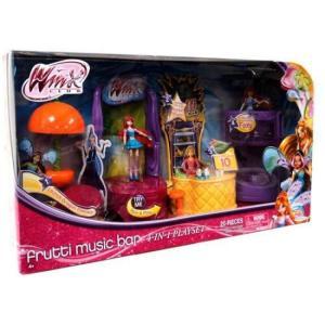 ウィンクス クラブ Winx Club ジャックスパシフィック Jakks Pacific おもちゃ Frutti Music Bar 3.75-Inch Playset|fermart-hobby