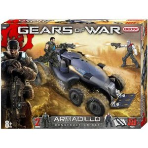 ギアーズ オブ ウォー Gears of War エレクター Erector おもちゃ Armadillo APC Construction Set #5450|fermart-hobby
