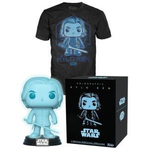 カイロ レン Kylo Ren ファンコ Funko フィギュア おもちゃ POP! Star Wars Holographic Exclusive Vinyl Figure & T-Shirt [Medium]|fermart-hobby