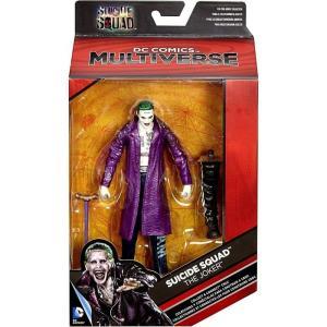 ジョーカー Joker マテル Mattel Toys フィギュア おもちゃ DC Suicide Squad Multiverse Croc Series The Action Figure [Purple Jacket]|fermart-hobby
