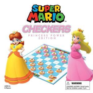スーパーマリオ Super Mario ユーエスアポリー USAopoly おもちゃ Princess Power Edition Checkers fermart-hobby