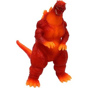 ゴジラ Godzilla バンダイ Bandai フィギュア おもちゃ 1995 50th Anniversary Memorialbox Burning Vinyl Figure [ vs. Destroyah]|fermart-hobby