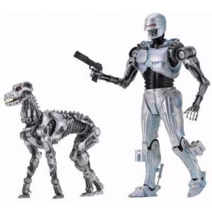 ターミネーター Terminator フィギュア 2点セット RoboCop vs. The EndoCop & Dog Action Figure 2-Pack|fermart-hobby
