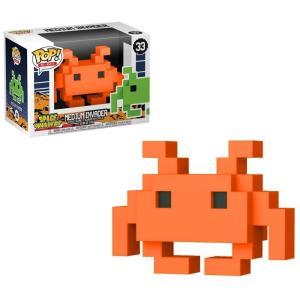 スペースインベーダー Space Invaders フィギュア POP! 8-Bit Medium Invader Exclusive Vinyl Figure #33 [Orange] fermart-hobby