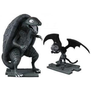 フランケンウィニー Frankenweenie ブリッジ ダイレクト Bridge Direct フィギュア おもちゃ Turtle Monster & Vampire Cat Mini Figure 2-Pack fermart-hobby