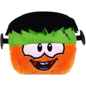 クラブ ペンギン Club Penguin ぬいぐるみ・人形 Series 10 Orange Puffle 4-Inch Plush [Frankenpenguin Hat]|fermart-hobby