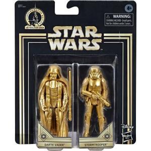ストームトルーパー Stormtrooper フィギュア 2点セット Star Wars A New Hope Skywalker Saga Darth Vader & Action Figure 2-Pack [Gold] fermart-hobby