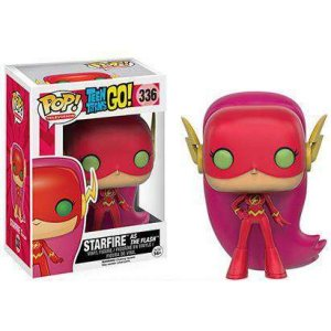 ティーン タイタンズGO! Teen Titans Go! フィギュア DC POP! TV Starfire as The Flash Exclusive Vinyl Figure #336|fermart-hobby