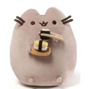 プシーン Pusheen ガンド Gund ぬいぐるみ おもちゃ Snackable Sushi 9.5-Inch Plush|fermart-hobby