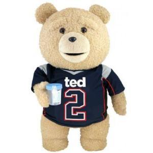 テッド Ted 2 ぬいぐるみ・人形 Ted in Jersey 24-Inch Talking Plush [Explicit]|fermart-hobby