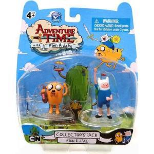 アドベンチャー タイム Adventure Time ジャズウェアーズ Jazwares フィギュア おもちゃ Collector's Pack Finn & Jake 2-Inch Mini Figure 2-Pack|fermart-hobby