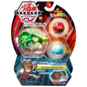 爆丸バトルブローラーズ Bakugan おもちゃ・ホビー Battle Planet Battle Brawlers Ventus Garganoid Starter Pack|fermart-hobby