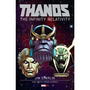 サノス Thanos マーベル Marvel おもちゃ : The Infinity Relativity Original Graphic Novels Hard Cover Comic Book|fermart-hobby
