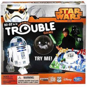 スターウォーズ Star Wars ハズブロ Hasbro Toys ボードゲーム おもちゃ Trouble Board Game|fermart-hobby