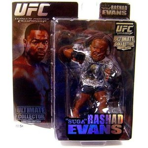 UFC UFC フィギュア Ultimate Collector Series 1 Rashad Evans Action Figure [Limited Edition]|fermart-hobby