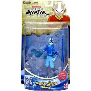 アバター 伝説の少年アン Avatar the Last Airbender マテル Mattel Toys フィギュア おもちゃ Aang Action Figure [Avatar Spirit]|fermart-hobby
