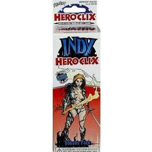 ヒーロークリックス HeroClix トレーディングカード ブースターパック Indy Booster Pack|fermart-hobby