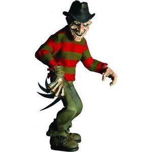 エルム街の悪夢 A Nightmare on Elm Street メズコ Mezco Toyz フィギュア おもちゃ Stylized Roto Freddy Krueger Action Figure|fermart-hobby