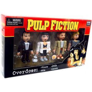 パルプ フィクション Pulp Fiction フィギュア 4点セット Geomes Overdose Mini Figure 4-Pack #4|fermart-hobby