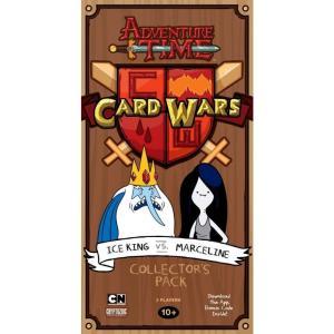 アドベンチャー タイム Adventure Time クライプトゾイックエンターテインメント おもちゃ Card Wars Ice King vs Marceline Collector's Pack|fermart-hobby