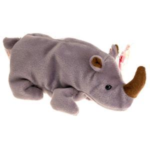 ビーニーベイビーズ Beanie Babies Ty ぬいぐるみ おもちゃ Spike the Rhino Beanie Baby Plush|fermart-hobby
