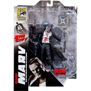 シン シティ Sin City フィギュア Marv Exclusive Action Figure [Bloody]|fermart-hobby