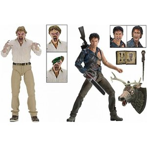 ホラー Horror フィギュア Evil Dead 2 30th Anniversary Hero Ash & Evil Ed Action Figure 2-Pack|fermart-hobby