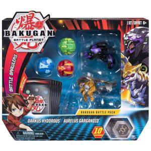 爆丸バトルブローラーズ Bakugan おもちゃ・ホビー Battle Planet Battle Brawlers Darkus Hydorous & Aurelus Garganoid Battle Pack|fermart-hobby