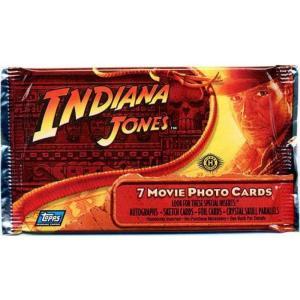 インディ ジョーンズ Indiana Jones トップス Topps トレーディングカード おもちゃ Kingdom of the Crystal Skull Trading Card Pack|fermart-hobby