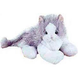 ウェブキンズ Webkinz ぬいぐるみ・人形 ぬいぐるみ Gray & White Cat Plush fermart-hobby