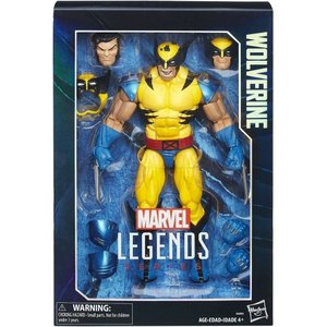 ウルヴァリン Wolverine ハズブロ Hasbro Toys フィギュア おもちゃ Marvel Legends Deluxe Collector Action Figure|fermart-hobby