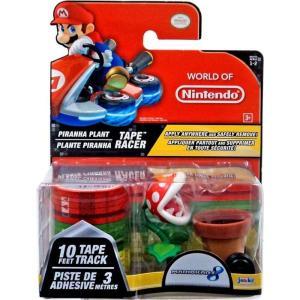 スーパーマリオ Mario Kart 8 ジャックスパシフィック Jakks Pacific フィギュア おもちゃ Super Mario Tape Racer Piranha Plant Figure|fermart-hobby