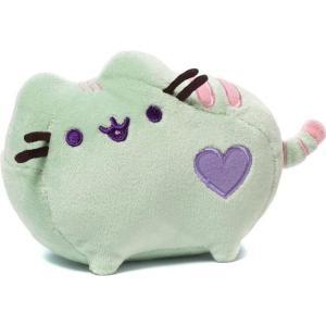 プシーン Pusheen ぬいぐるみ・人形 Pastel 6-Inch Plush [Green]|fermart-hobby