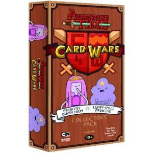 アドベンチャー タイム クライプトゾイックエンターテインメント おもちゃ Card Wars Princess Bubblegum vs Lumpy Space Princess Collector's Pack|fermart-hobby